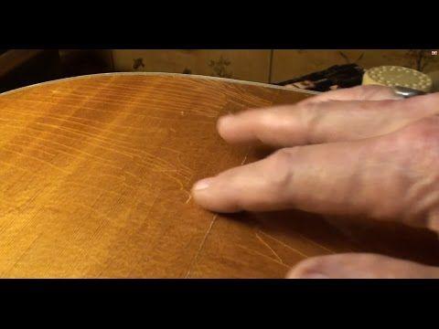 Acoustic Guitar Cracked Top Repair By Randy Schartiger Youtube Acoustic Guitar Repair Videos Guitar