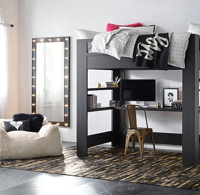 That Mirror For A Teen Girls Room. RH TEENu0027s Illuminated Leaner Mirror Dark  Steel:
