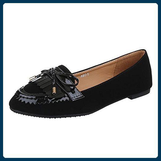 9ebc7189d4 Damen Schuhe, ABC-5, HALBSCHUHE, SLIPPER, Synthetik in hochwertiger  Velourlederoptik und