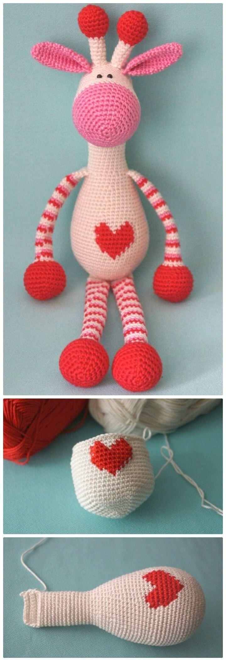 32+ Marvelous Image of Crochet Giraffe Pattern #crochetgiraffepattern