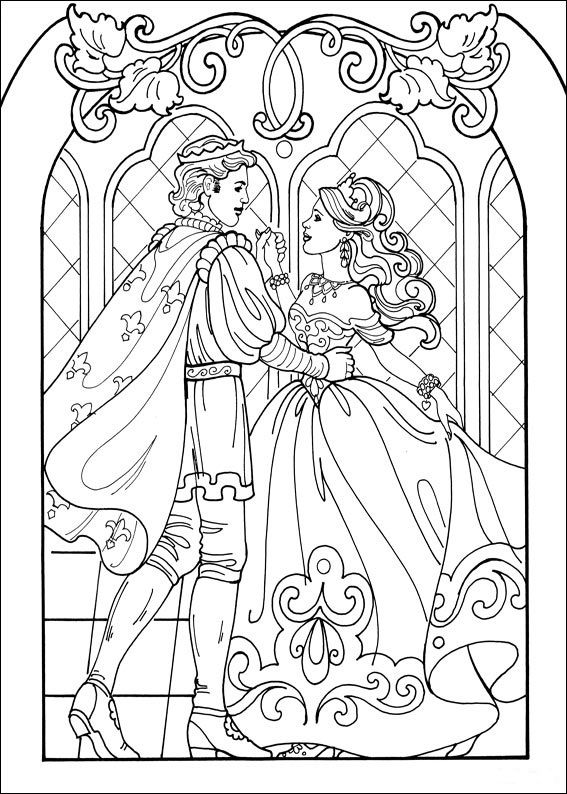Prinzessin 04 malvorlagen | princezny | Pinterest