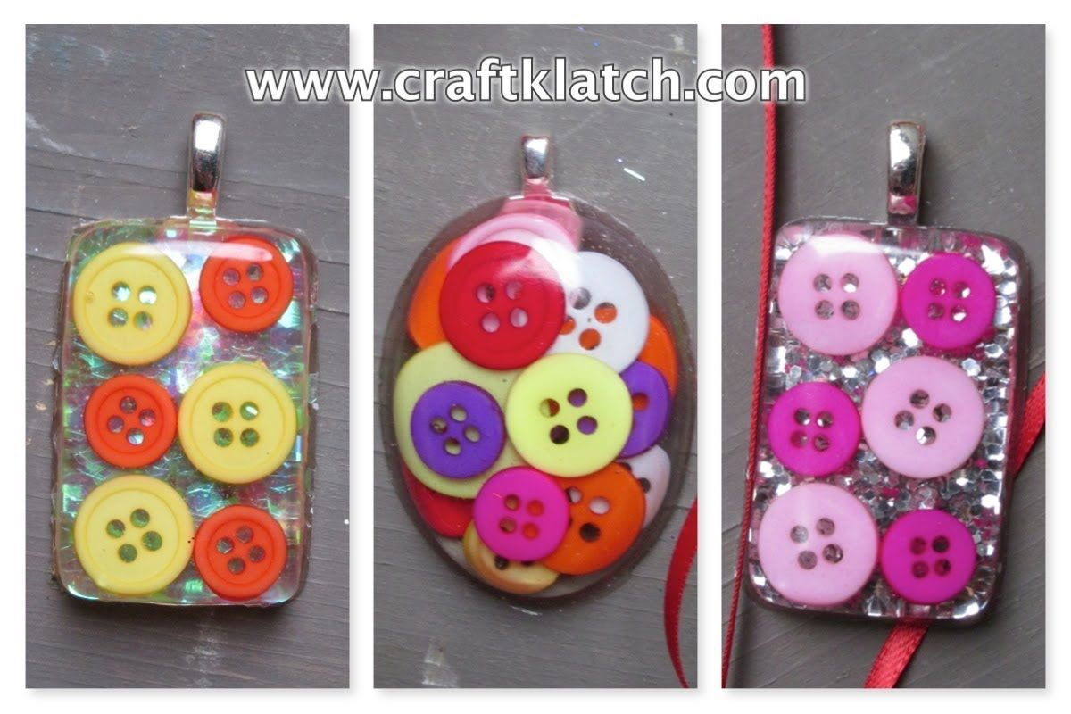 how to make resin crafts