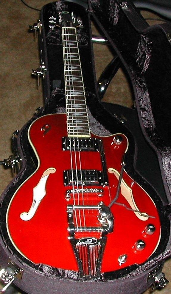 Duesenberg Starplayer Tv Deluxe 2014 Red Duesenberg Guitar