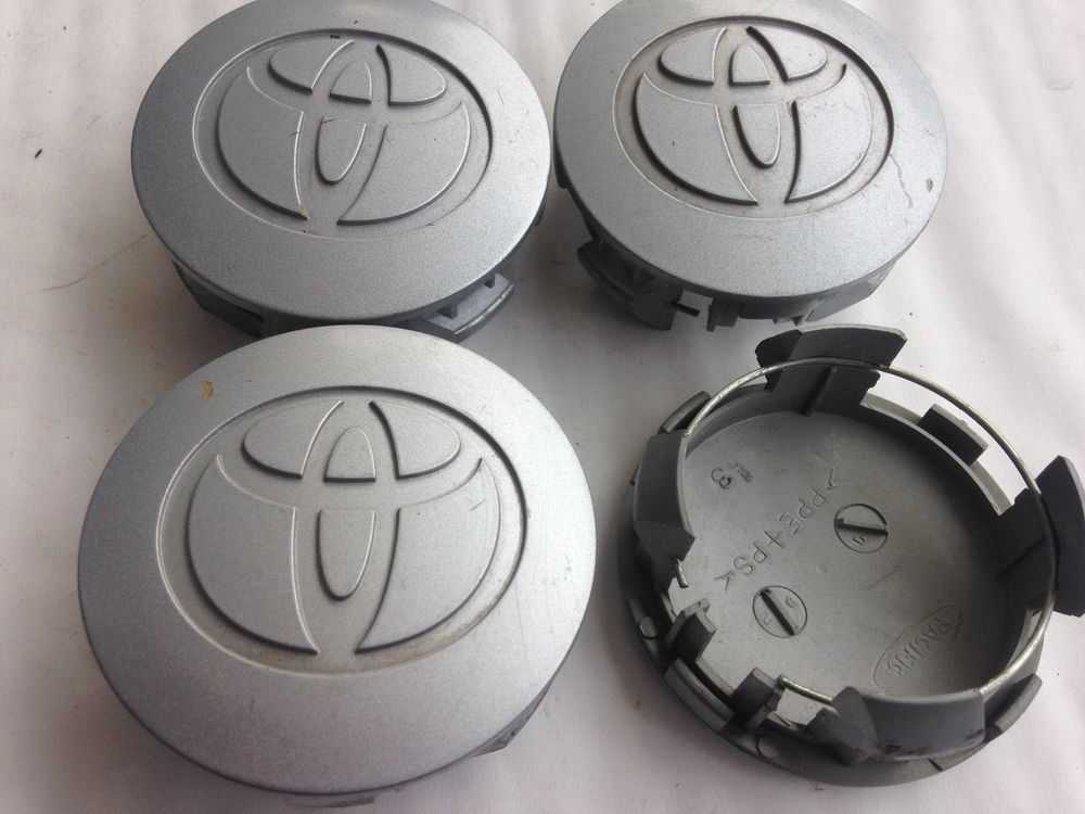 2001 2008 Toyota Carolla Rav4 Center Cap Silver Painted 2 5 Set Of 4 Toyota Toyota Wheels Toyota Center Toyota