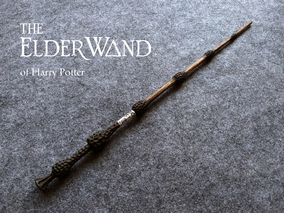 The Elder Wand With Wand Core Wand Cores Elder Wand Wands
