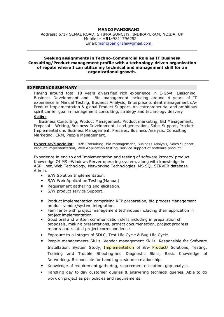 Web Services Testing Resume Best Of Manoj Resume Business Consulting Resume Examples Medical Coder Resume Sample Resume
