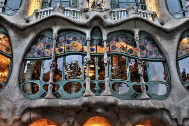 Casa Batllo By Antoni Gaudi Casa Batlló Gaudi Antoni Gaudi