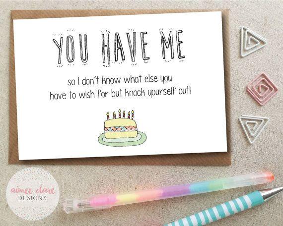 Funny Boyfriend Girlfriend Birthday Card Etsy Birthday Cards For Boyfriend Birthday Cards For Girlfriend Cards For Boyfriend
