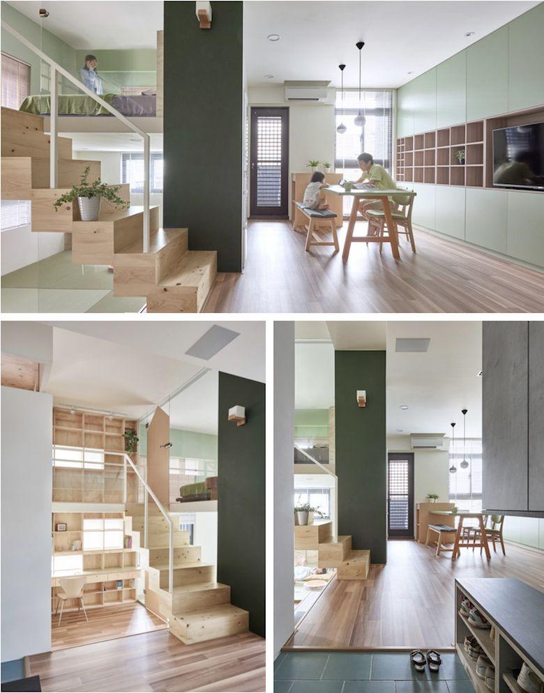 Casas de dos pisos casas especiales pinterest casas for Disenos de casas de dos pisos pequenas