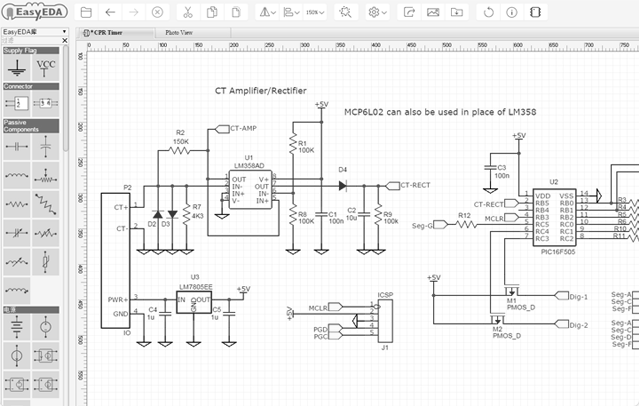Virtual Electronic Circuit Simulation, PCB design, Electronic ...