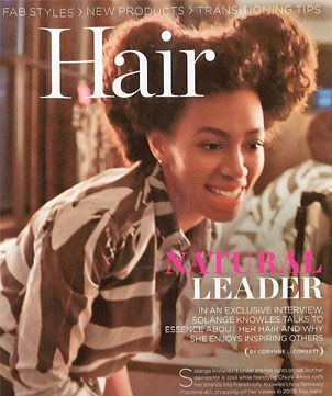 Solange Knowles discusses the evolution of her hair with ESSENCE magazine http://bit.ly/JE1tVx