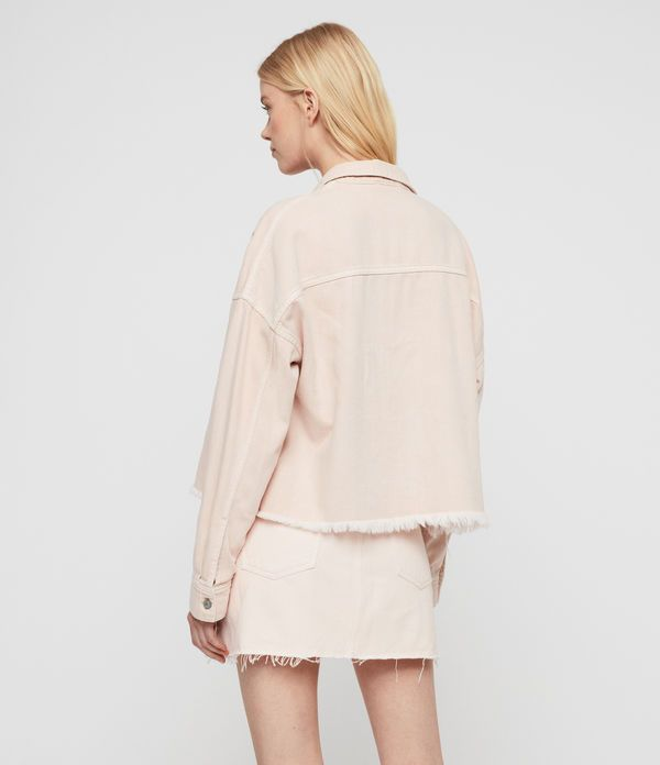 99c608ddd40912 AllSaints Kyrie Denim Shirt Jacket in 2019 | Denim | Shirt jacket ...
