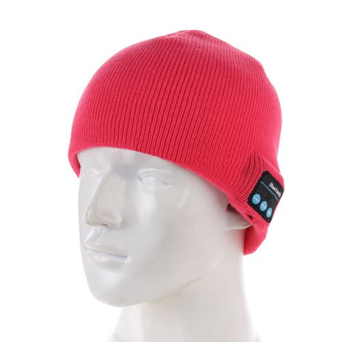 Knitted Bluetooth Headset Warm Winter Hat with Mic for Boy& Mens (Rose)at http://www.onu-mall.com/knitted-bluetooth-headset-warm-winter-hat-with-mic-for-boy---girl---adults-rose.html