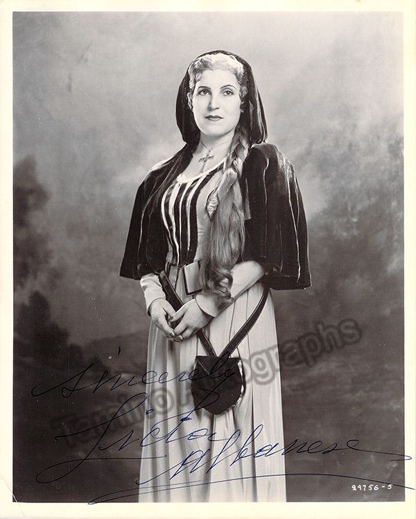 Albanese, Licia - Signed Photo in Role