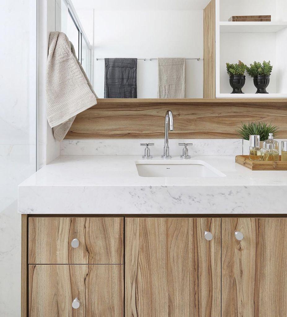 60 Bancadas de Banheiros e Lavabos para te Inspirar