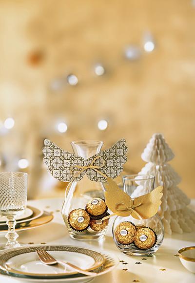 Weihnachtsdeko Ferrero.Hinreißende Festliche Dekorationen Von Ferrero Weihnachtsdeko