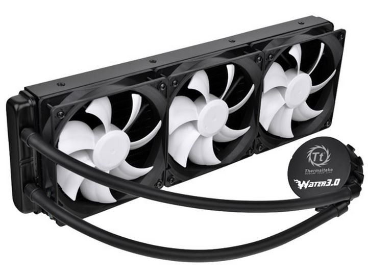 Thermaltake Water 3 0 Ultimate 360mm Aio Cpu Cooler Review