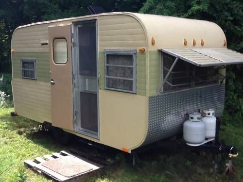 1970 Go Tag Along 12 4800 Vintage Travel Trailers Retro