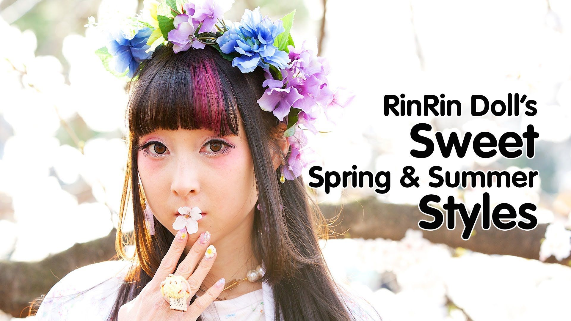 Sweet Harajuku Styles For Spring & Summer By RinRin Doll