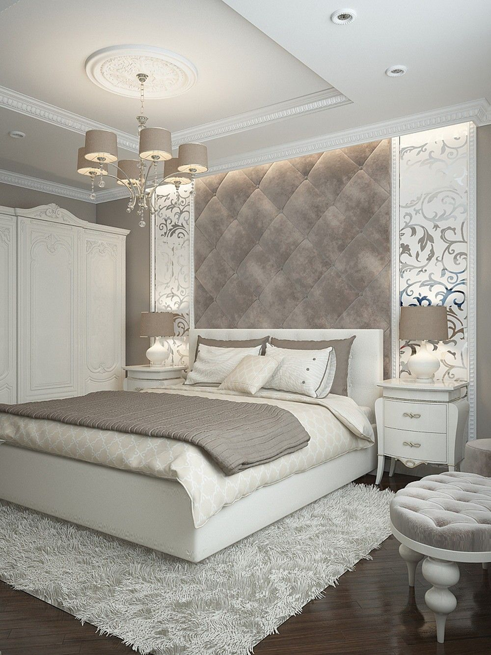Large master bedroom decor ideas  Pin by jazzy Rafanan on Bedroom decor  Pinterest  Bedrooms Master
