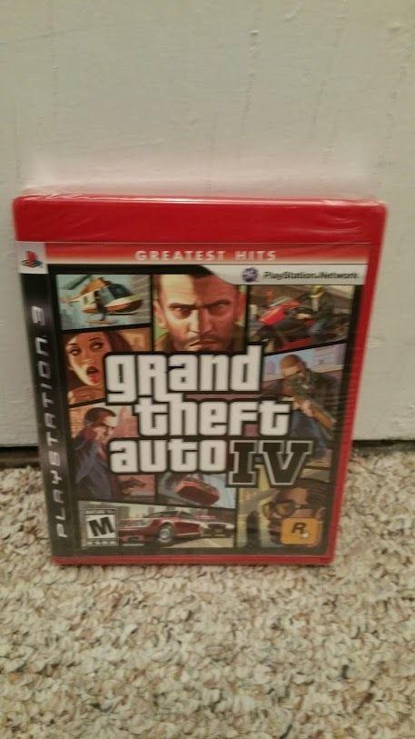 Grand Theft Auto Iv Playstation 3 Gta Iv Ps3 New