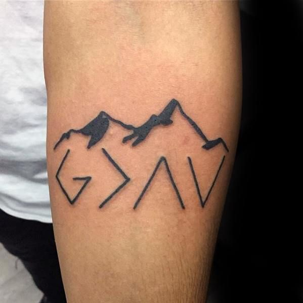 Top 51 God Is Greater Than The Highs And Lows Tattoo Ideas Tattoos For Guys Tattoo Designs Men Tattoo Designs