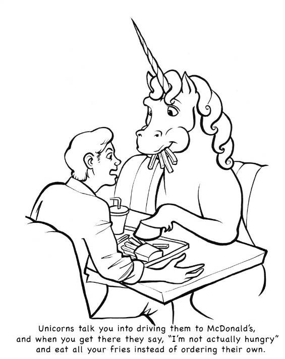 10 Bizarre Coloring Books for Adults | Coloring books, Unicorns ...