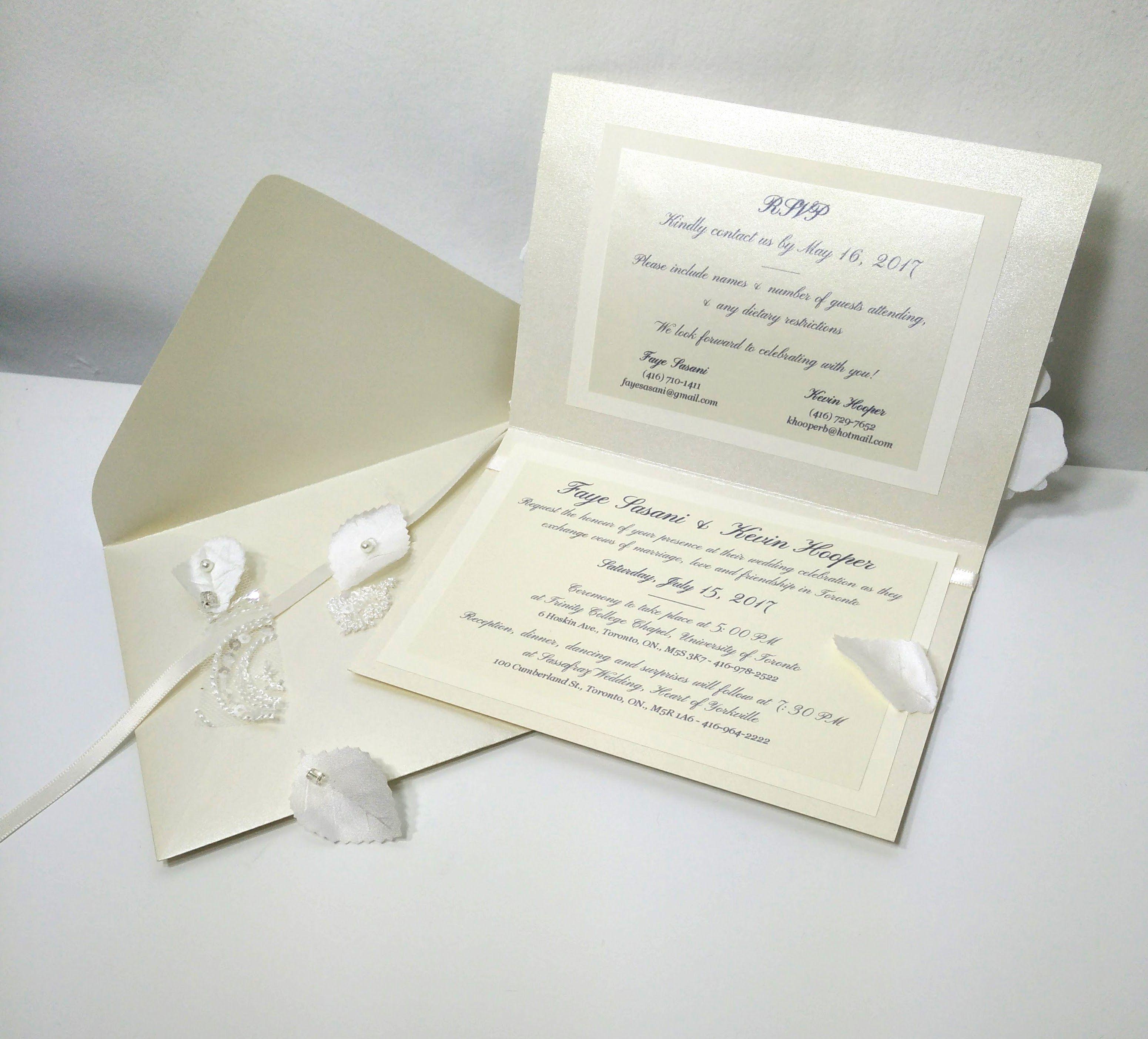Montreal Wedding Invitations: Stephanie Raudsepp, Montreal, QC, Handmade Stationery