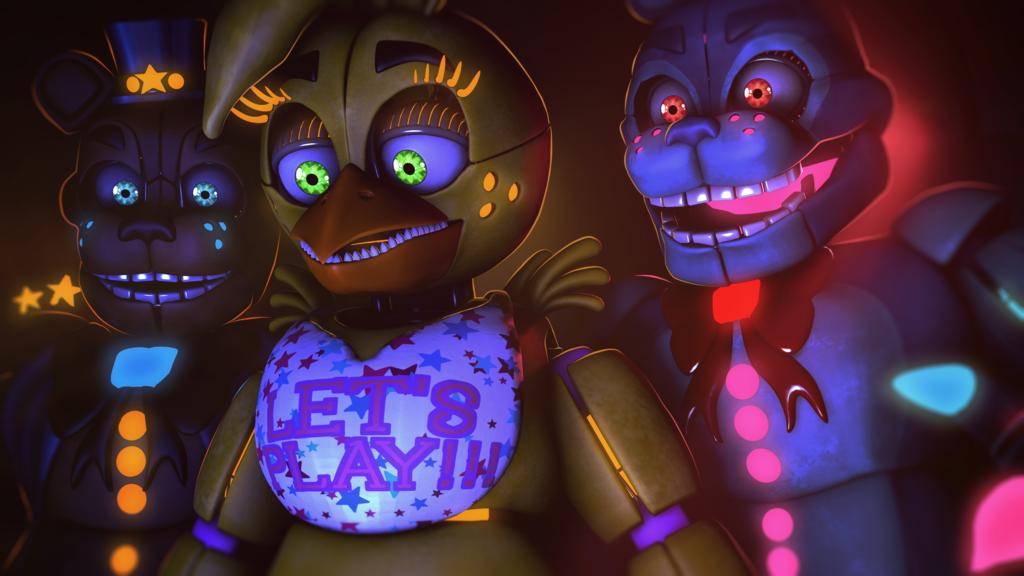 Advanced Animatronics | Five Nights at Freddy's | Fnaf, Five