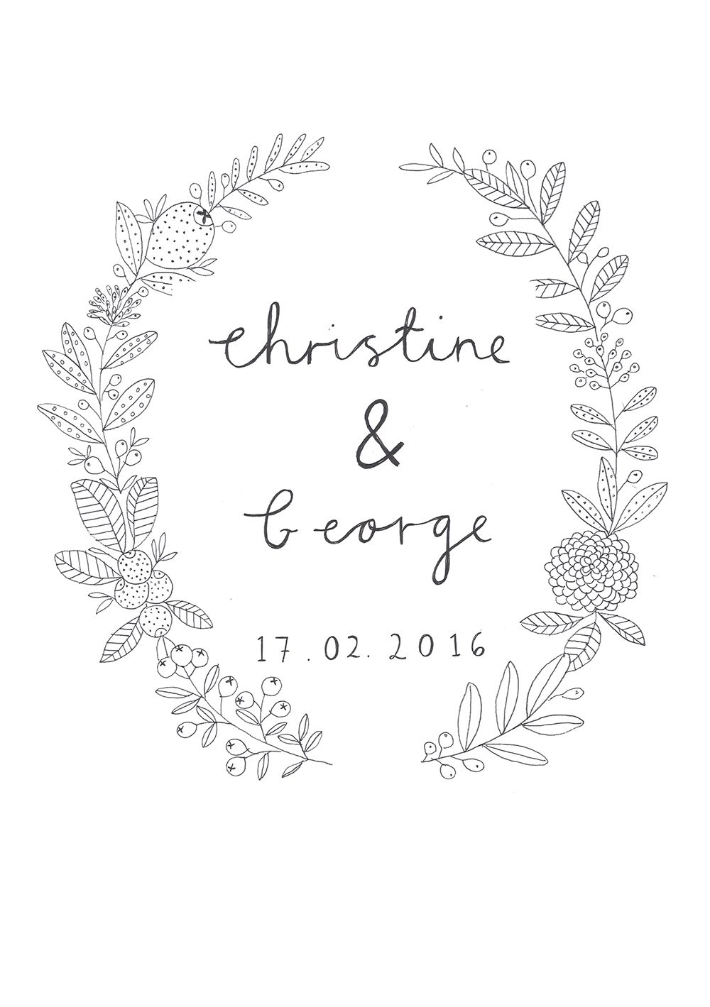 Wedding Invite Design By Ryn Frank Wwwrynfrankcouk Tattoo