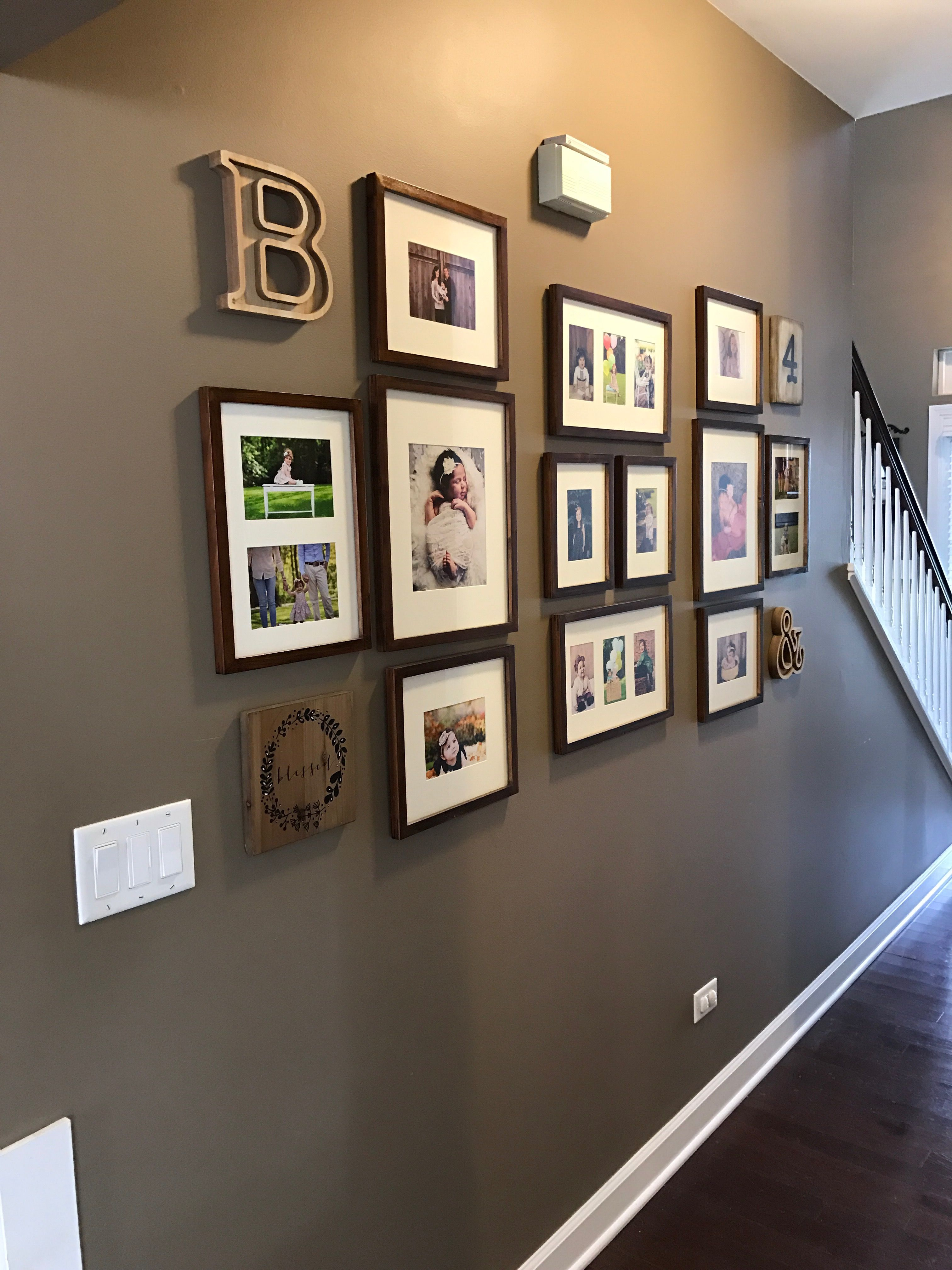 Pottery barn gallery wall | Gallery wall, House rooms, Home decor