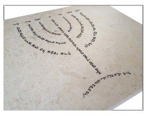 Custom Judaica and art is our specialty. A synagogue in Monsey asked us to create this for their congregation. It's built to last generations.  We have a great team of graphic designers to help make every product exactly how the customer envisions their Judaica.