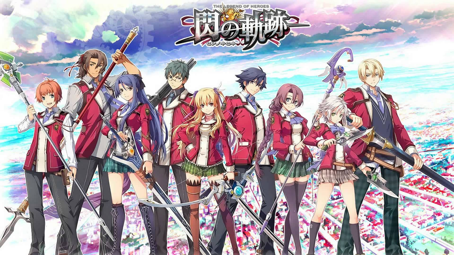 The Legend Of Heroes Trails Of Cold Steel Wallpaper Hd The