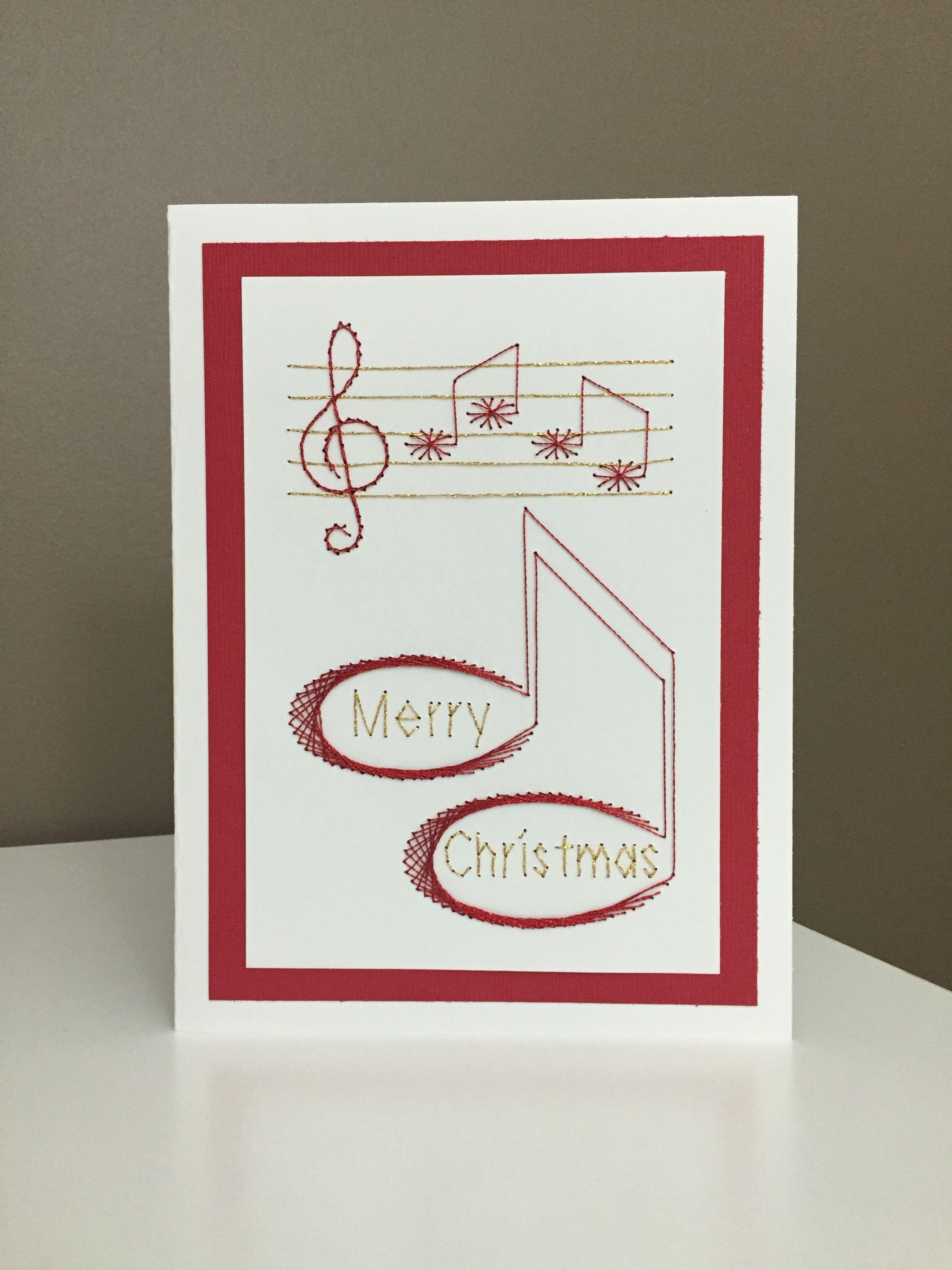 Design: Christmas 24 - Musical Merry Christmas Designer: form-a ...