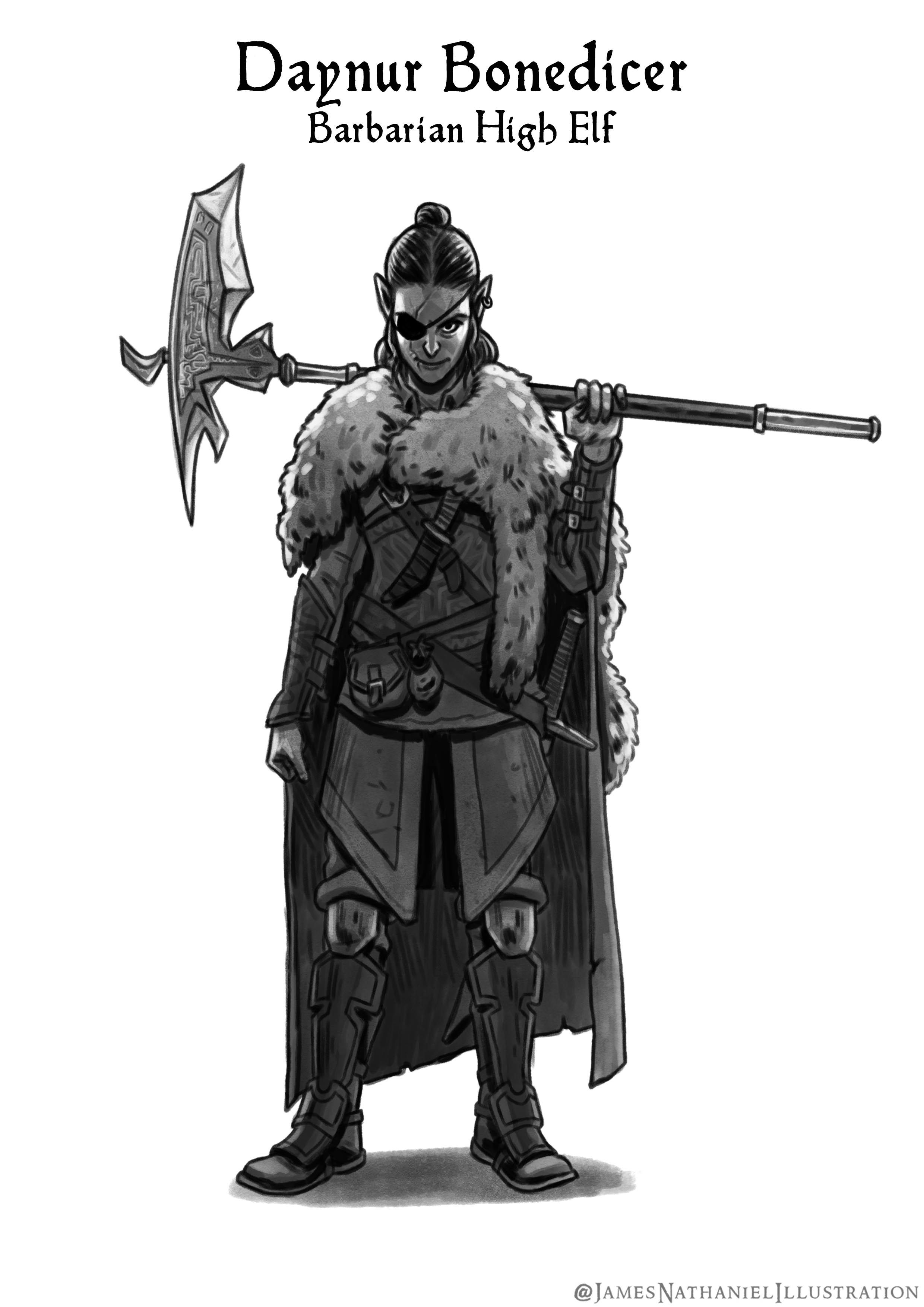 D D Character Drawings With Images Fantasy Warrior Character