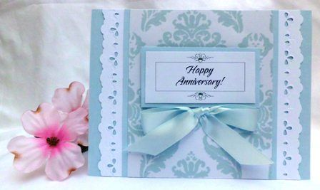 Beautiful anniversary card sketch you can get instructions on how