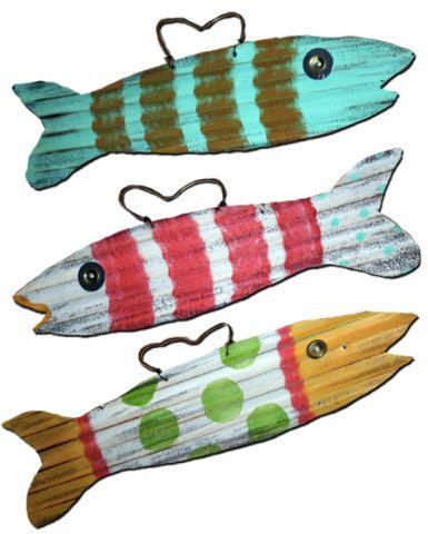 Corrugated Tin Fish Sheet Metal Crafts Corrugated Tin Metal Crafts