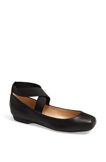 f809c7f14a2 Jessica Simpson  Mandalaye  Leather Flat available at  Nordstrom