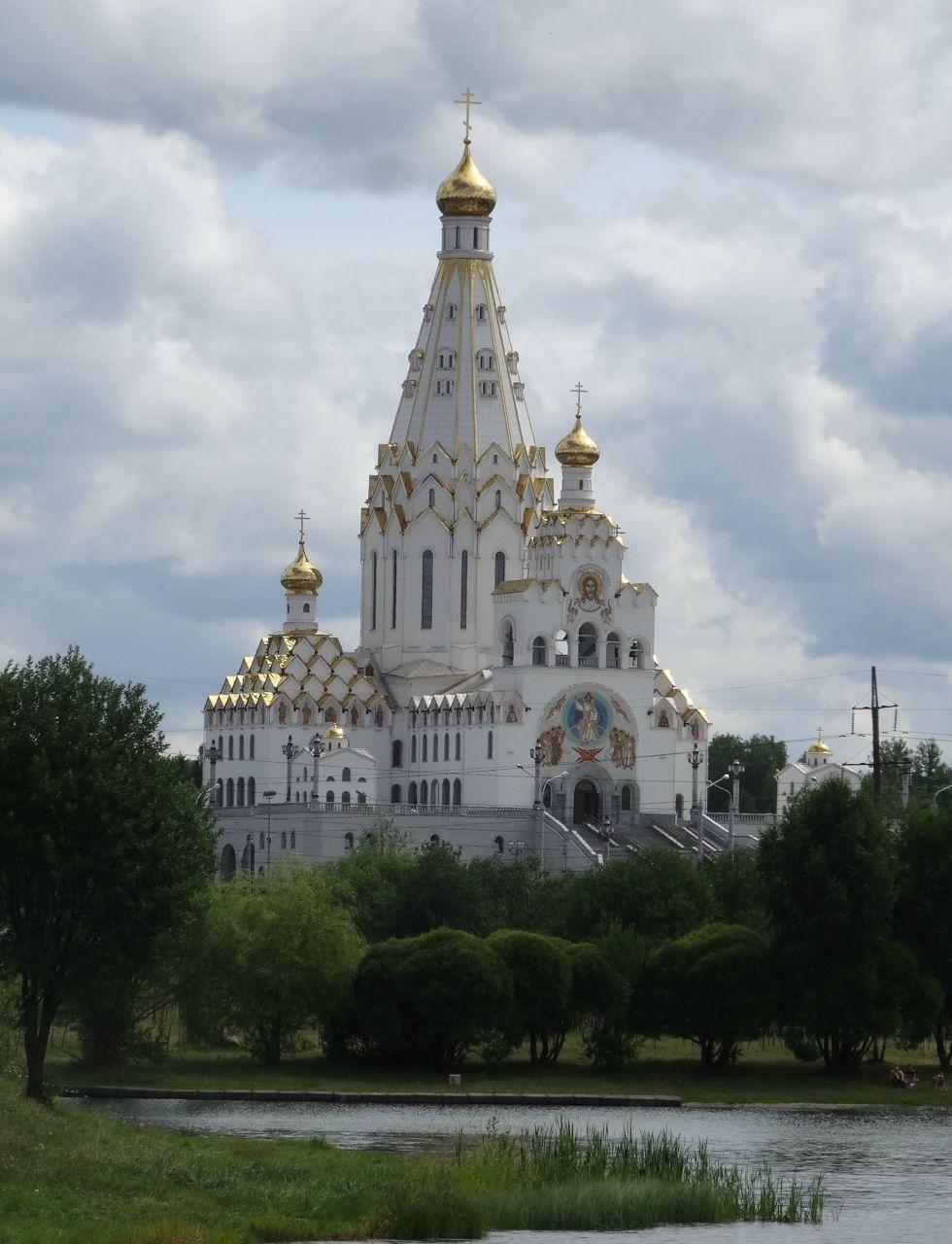 Храм-памятник в честь Всех Святых и в память о жертвах ...