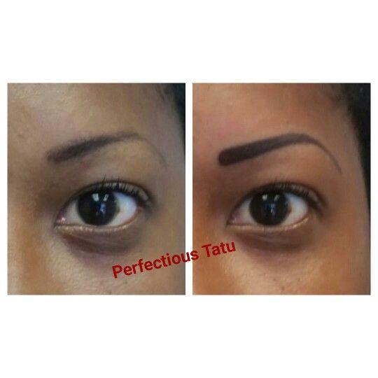 Permanent Makeup by Cheryl @ Perfectious Tatu #permanentmakeup #permanentcosmetics #eyebrows www.perfectioustatu.com