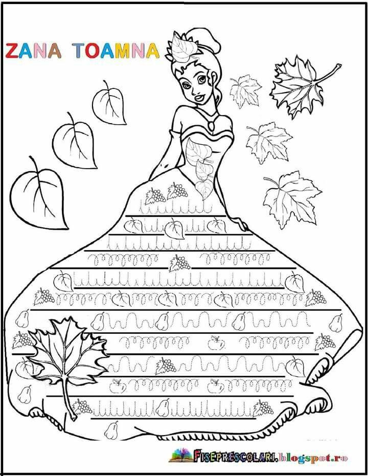 Zana Toamna Fisa Autumn Activities Preschool Worksheets