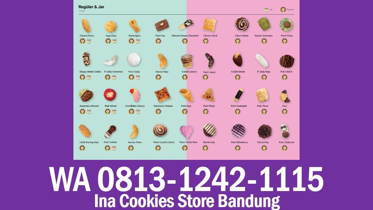 Ina Cookies Store Bandung Wa 0813 1242 1115 Kue Kering