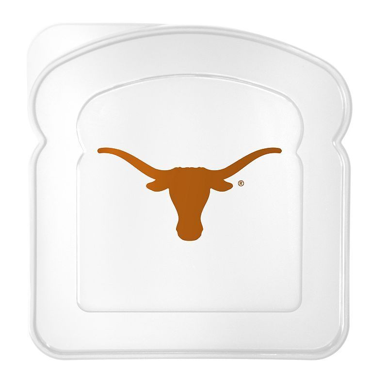 Boelter Texas Longhorns 4-Pack Sandwich Container, Multicolor
