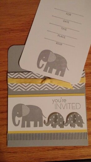 Stampin up zoo babies shower invitation by n rankin my cards stampin up zoo babies shower invitation by n rankin filmwisefo Choice Image