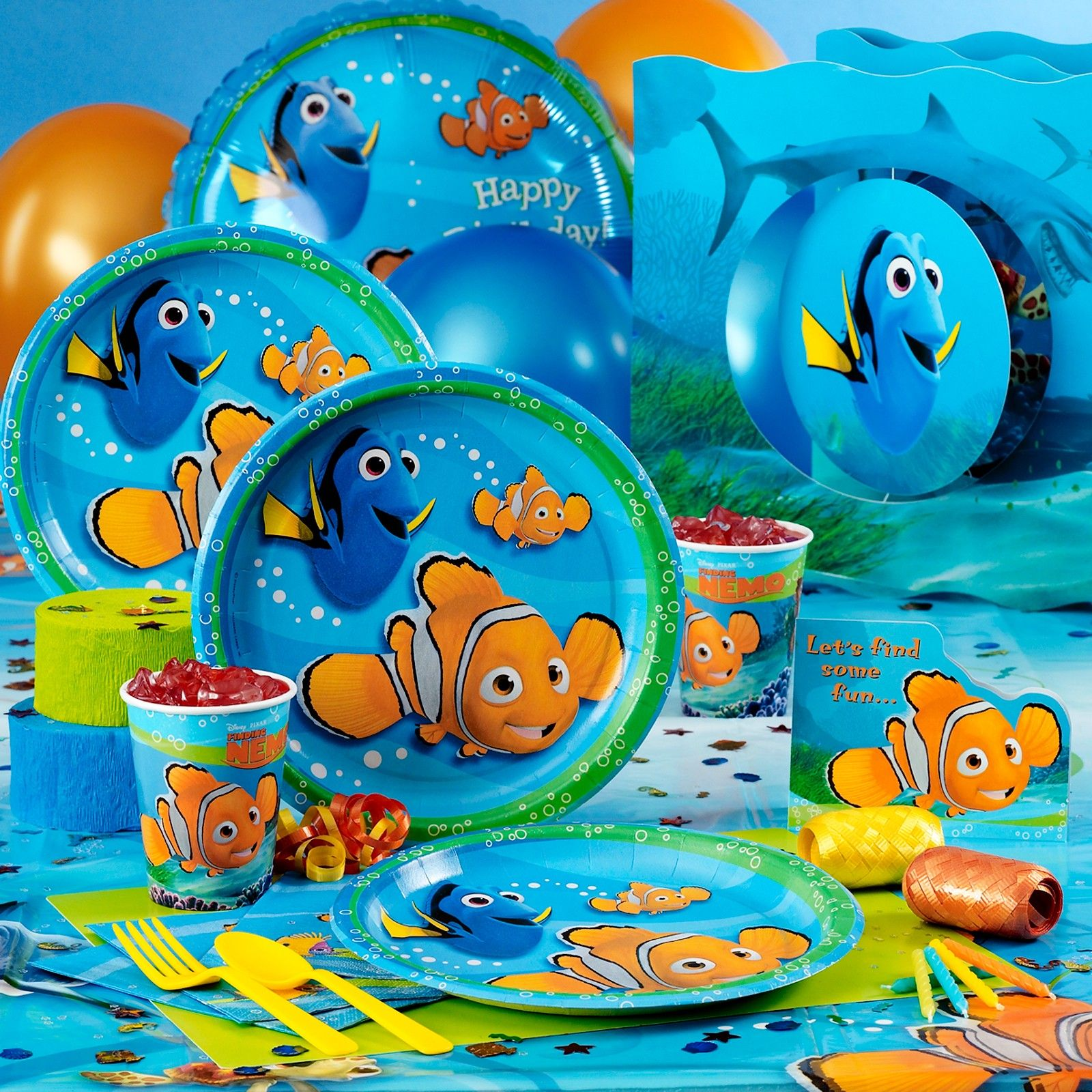 Finding Nemo Deluxe Party Pack | Party Ideas - Under the Sea ...