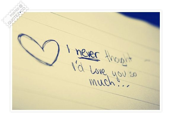Love You So Much Quotes Delectable I Love You So Much Quote  I Love You3  Pinterest  Shortest
