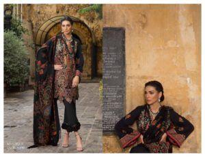 17ea4ca1b7 Buy Online Sana Safinaz Winter Shawl Collection 2018-19 | AN Fabrics ...