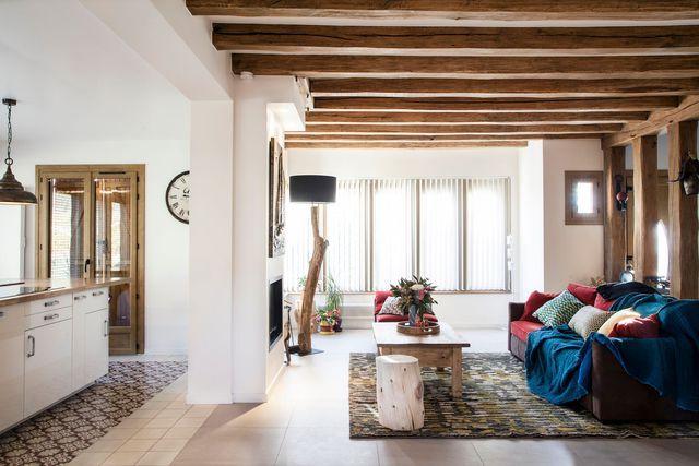 Maison banlieue parisienne  une extension avec jardin Salons