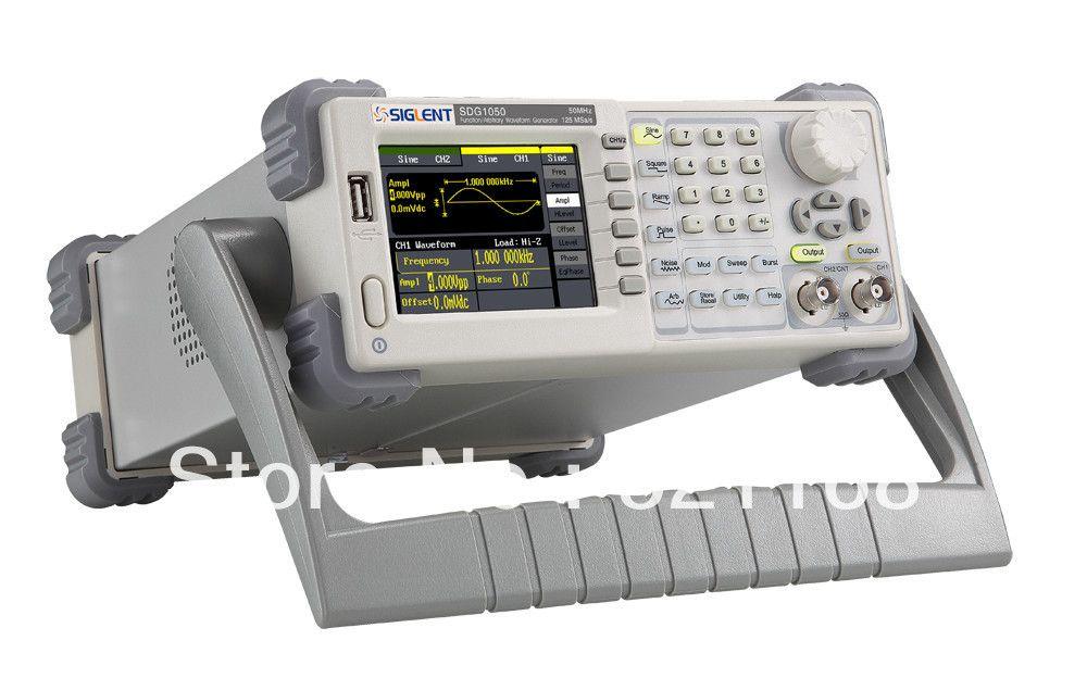 Siglent 50MHz SDG1050 arbitrary function waveform DDS signal