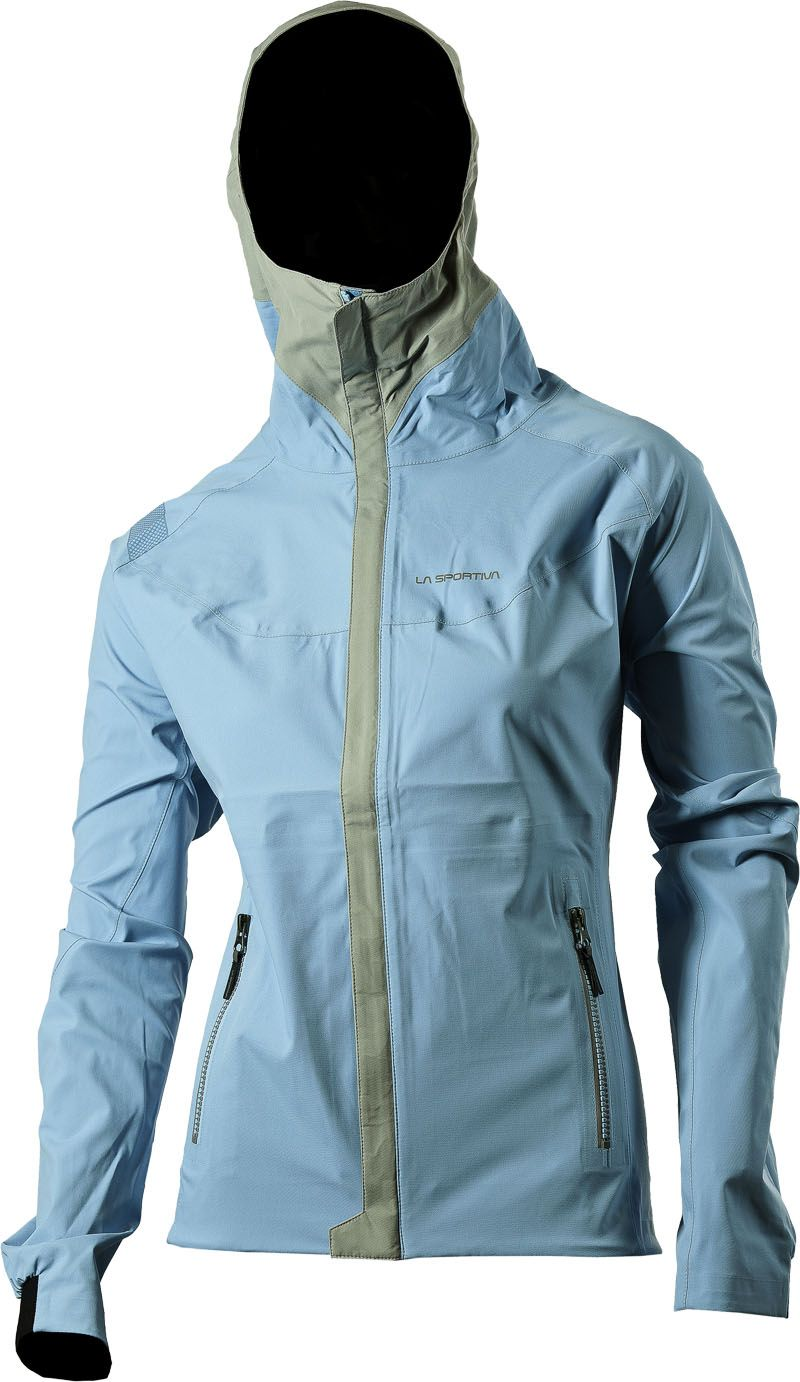 Storm Fighter Gtx Jacket Malibu Blue Spoutdoor Jackets